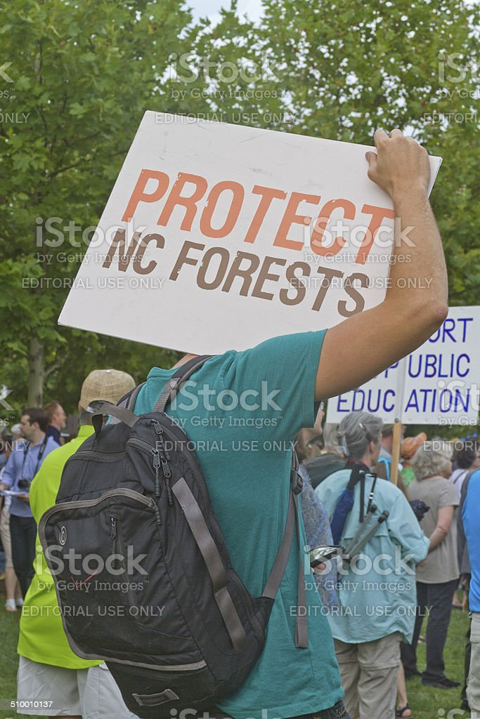 Moral Monday Issues stock photo