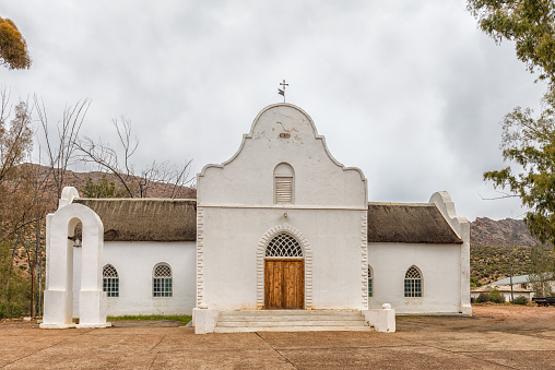 Moravian Church in Wupperthal in the Cederberg Mountains