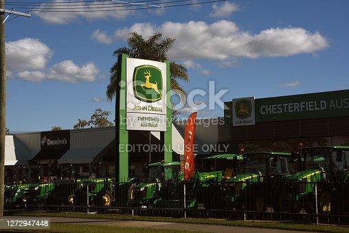 Chesterfield John Deere tractor and earthmoving equipment dealership.