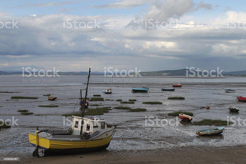 Morcambe Bay stock photo