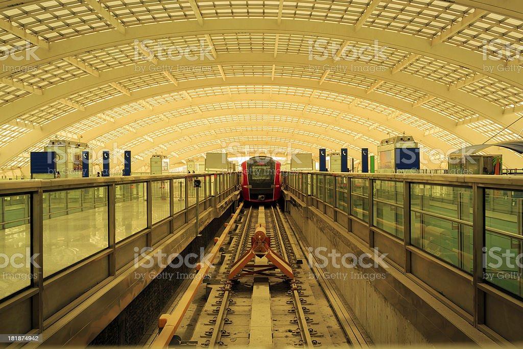 Morden subway hall royalty-free stock photo