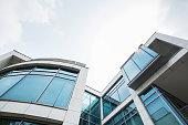 Mordern Office Building,a contemporary glass villa.