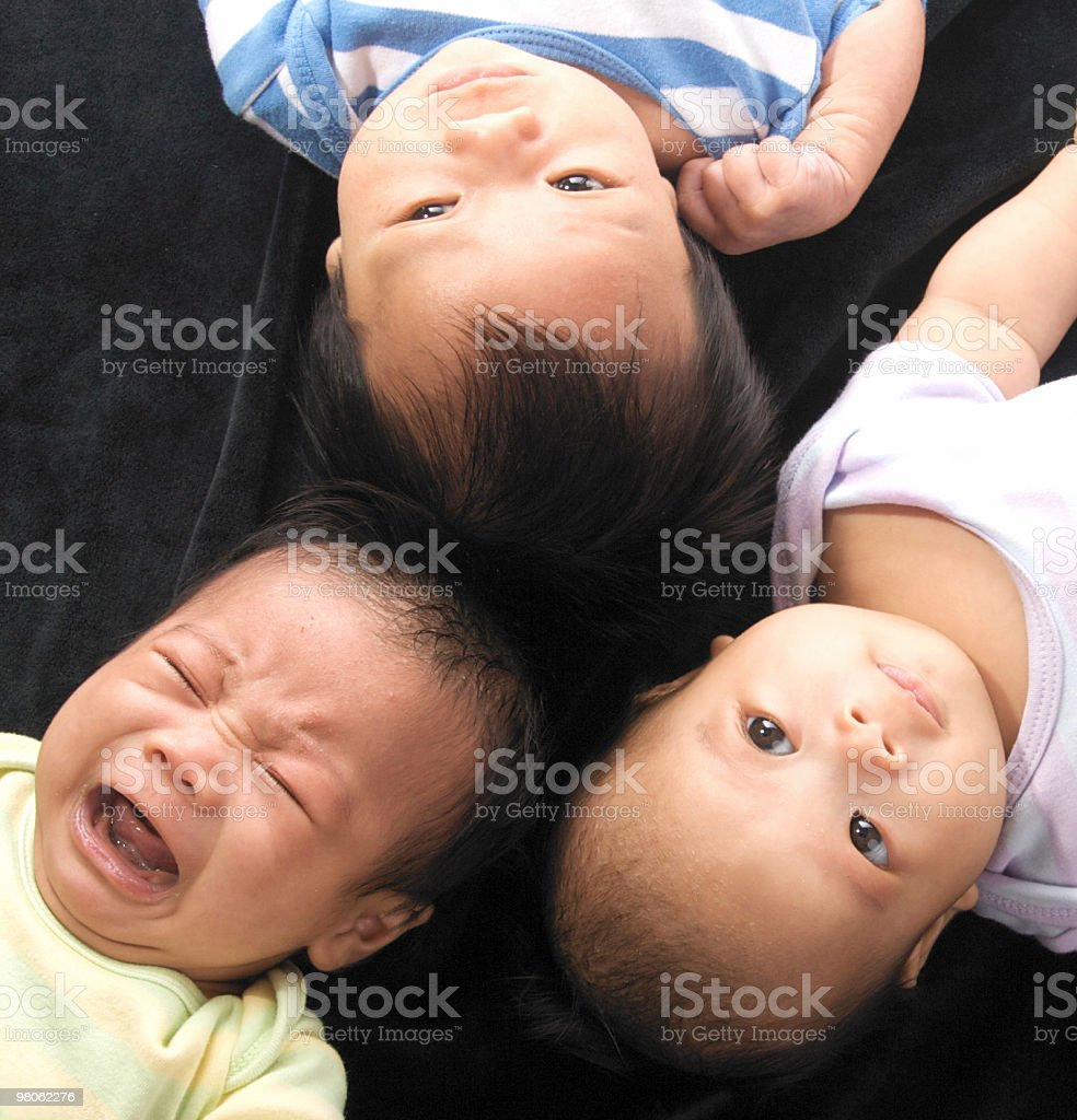 More Baby Faces royalty-free stock photo