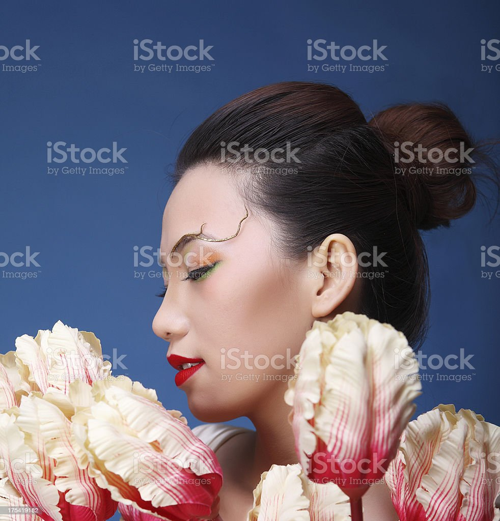 more beautiful than flowers royalty-free stock photo