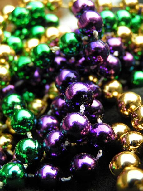 More Bright Beads stock photo