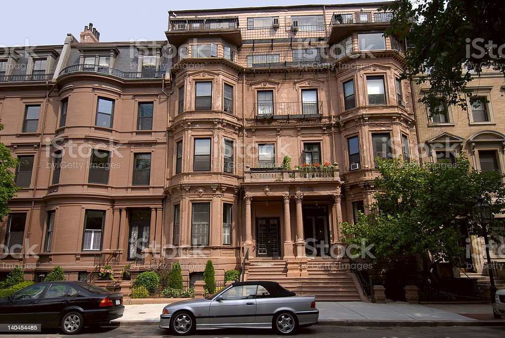 More brownstones royalty-free stock photo