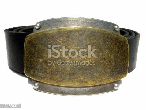 istock More buckle than belt 104228321