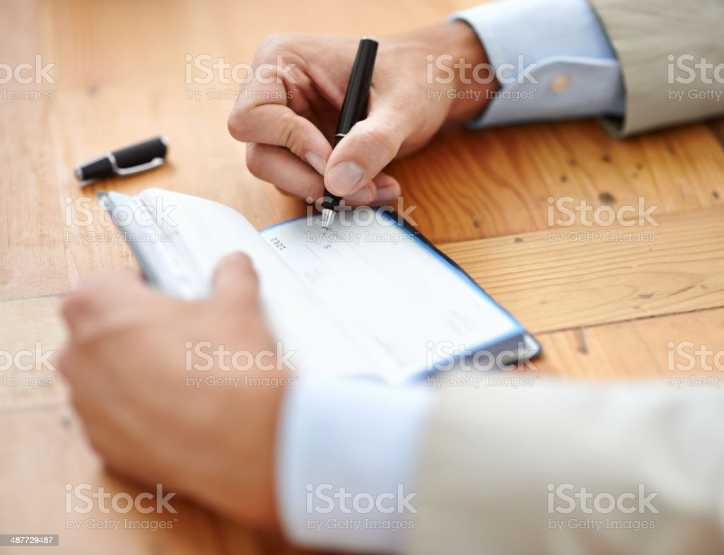 More going out than coming in? stock photo