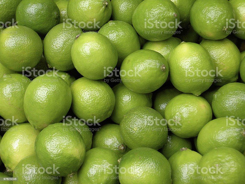 Plus citrons verts photo libre de droits