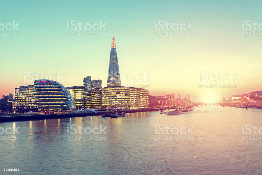 More London District stock photo