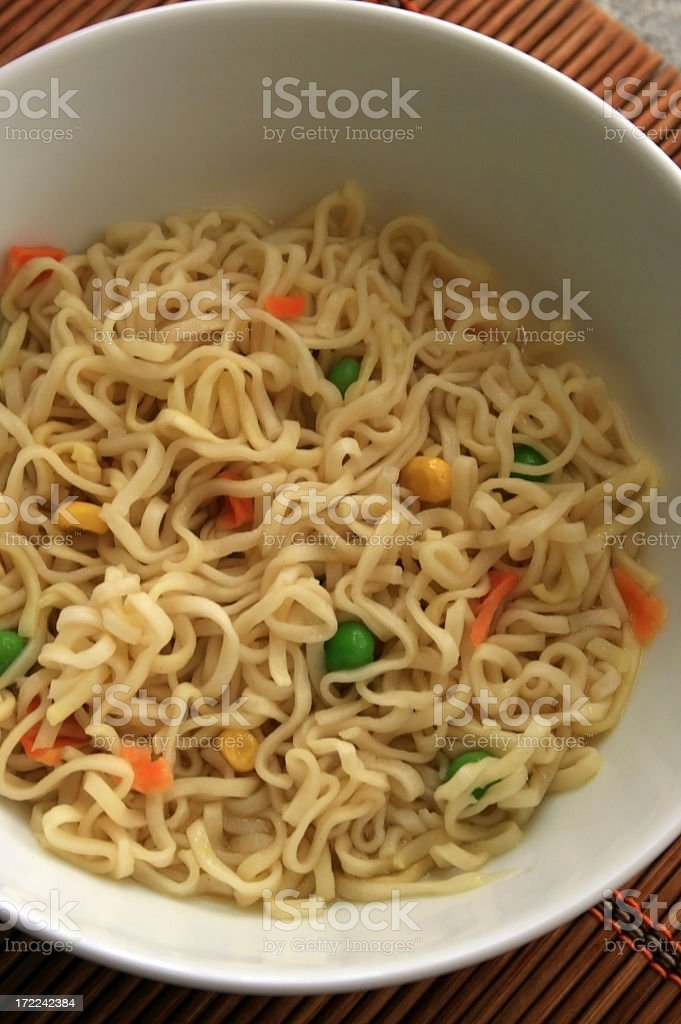 more noodles royalty-free stock photo