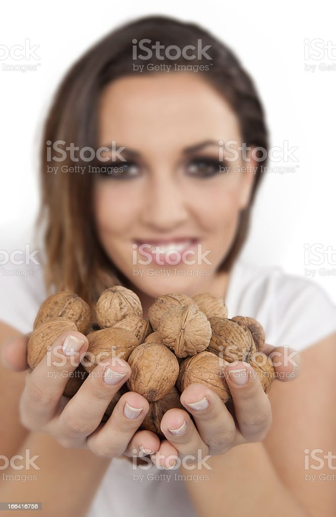 More Nuts royalty-free stock photo