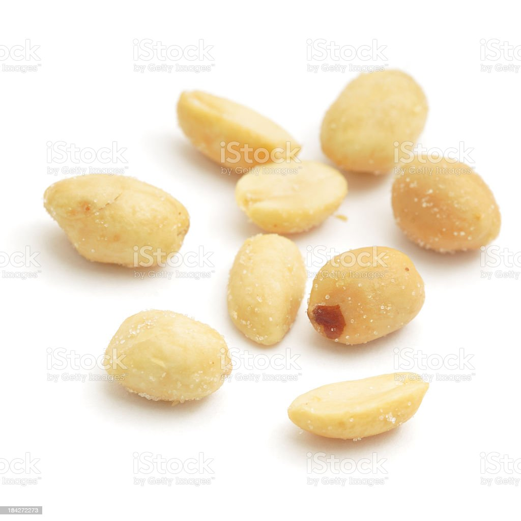 More Peanuts royalty-free stock photo