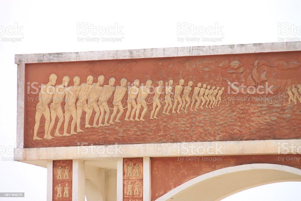 More than 10 million slaves stock photo