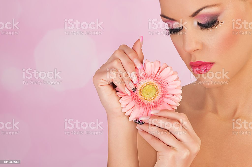More Than Beauty royalty-free stock photo
