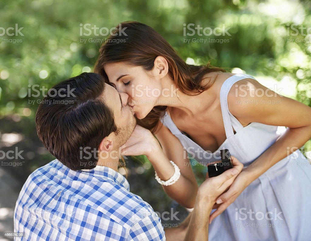 More than just a summer romance stock photo