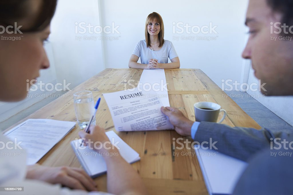 More than qualified for the job! stock photo