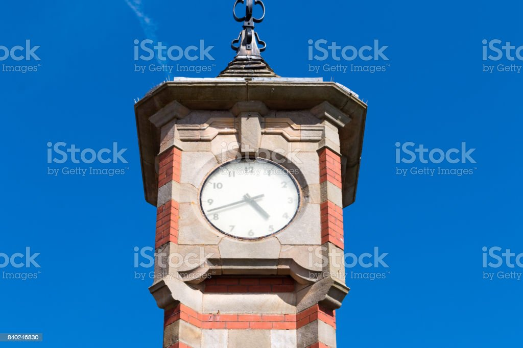 Morecambe Clock Tower stock photo