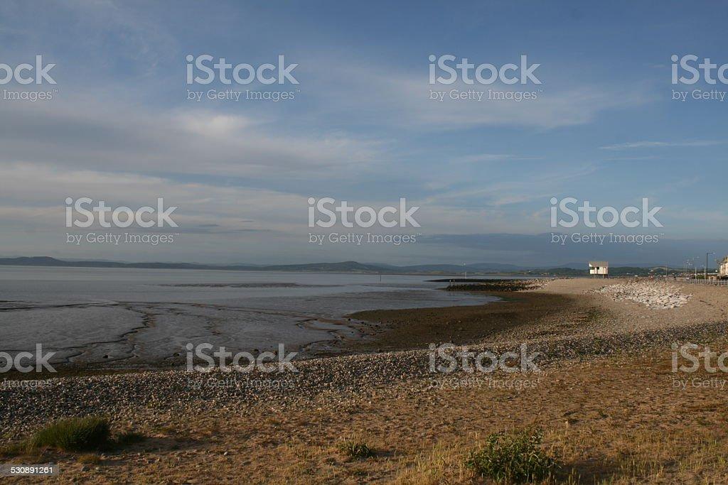 Morecambe seaside stock photo
