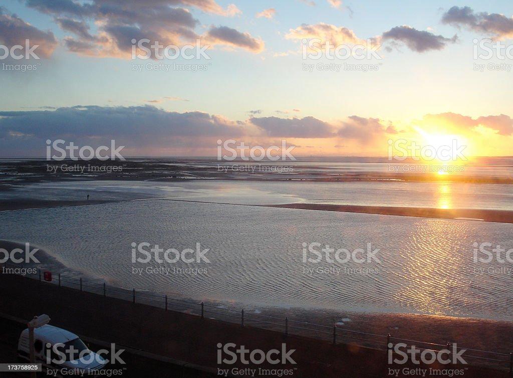Morecombe Bay 11 stock photo