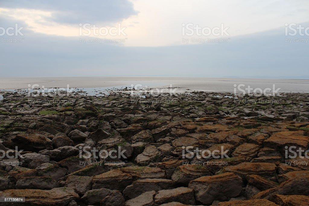 Morecombe Bay 2 stock photo