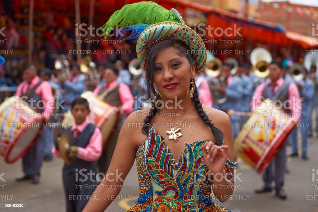 オルロのカーニバルで Morenada ...