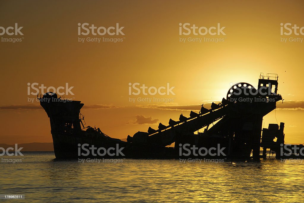 Moreton Island stock photo