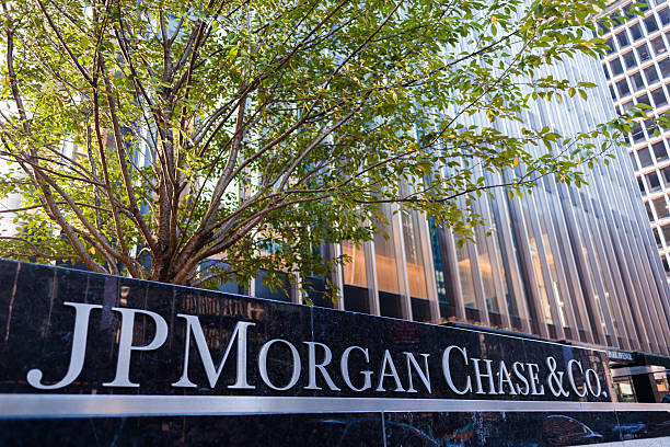 JP Morgan Chase and Co stock photo