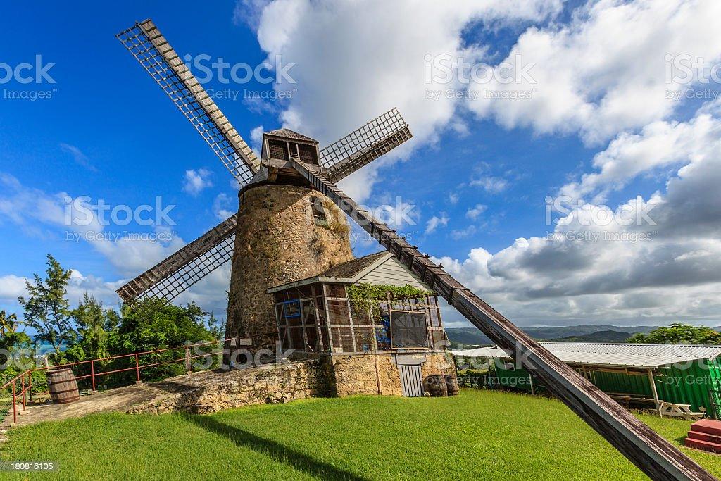 Morgan Lewis Sugar Mill, Barbados - foto de acervo