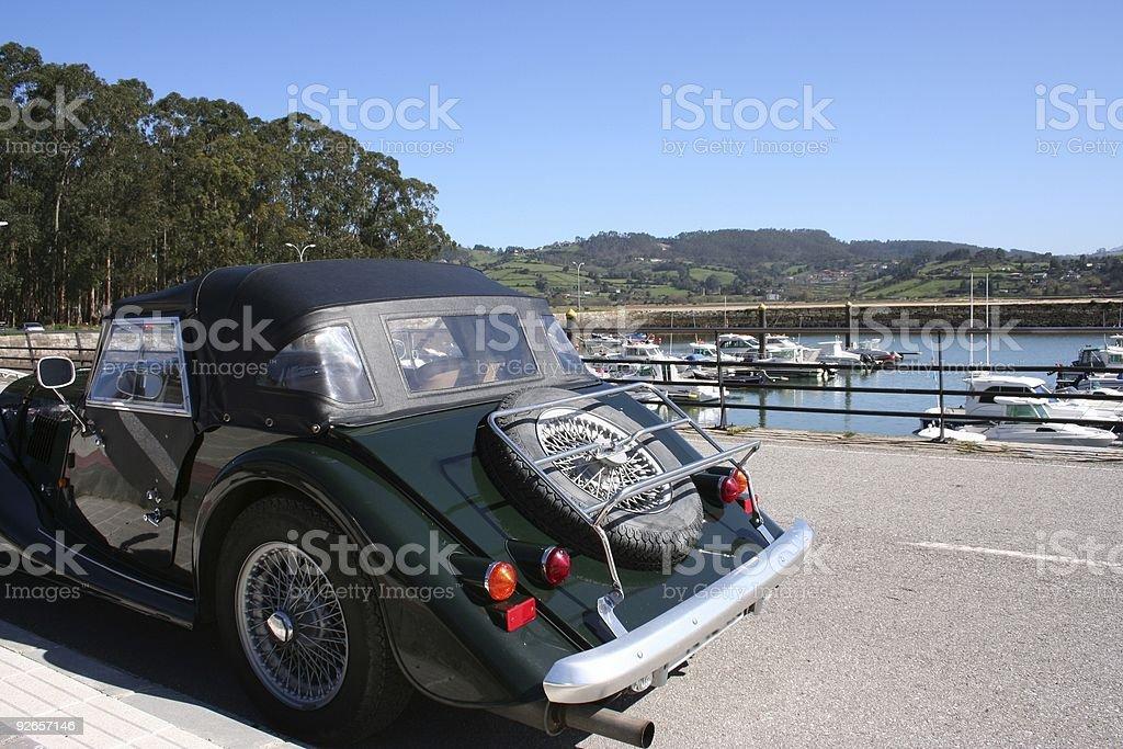 Morgan Roadster royalty-free stock photo