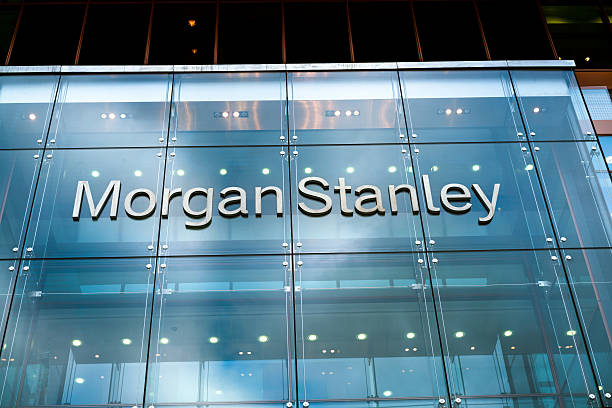 Morgan Stanley European Headquarters, London, UK stock photo