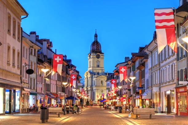Morges, Schweiz – Foto