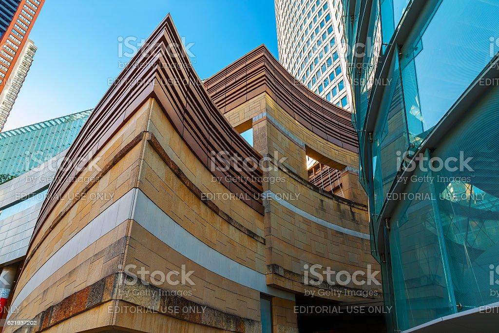 Mori Tower building at Roppongi hills in Tokyo stock photo