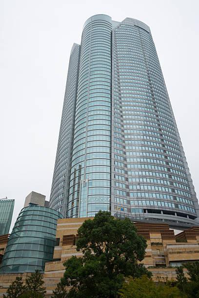Mori Tower Skyscraper in Roppongi Hills, Tokyo stock photo