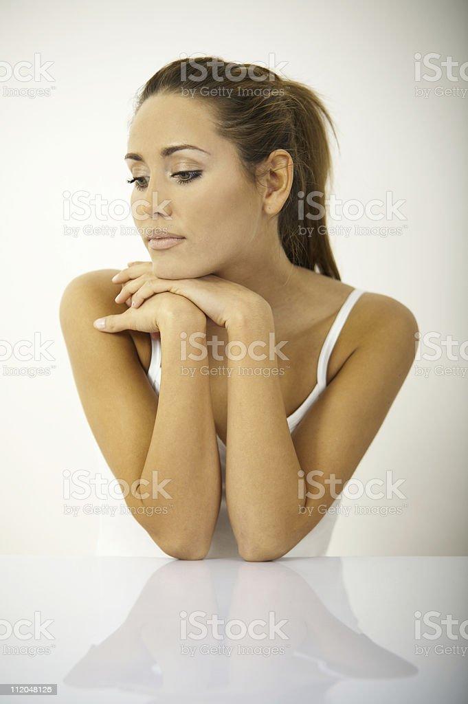 Moring Beauty V royalty-free stock photo