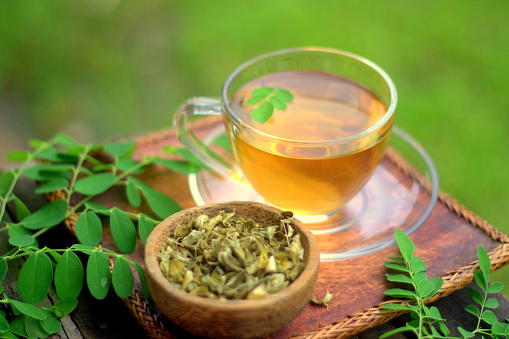 Moringa Herbal Tea Stock Photo - Download Image Now - iStock