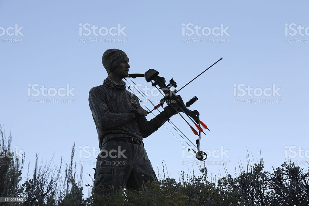 morining hunt stock photo
