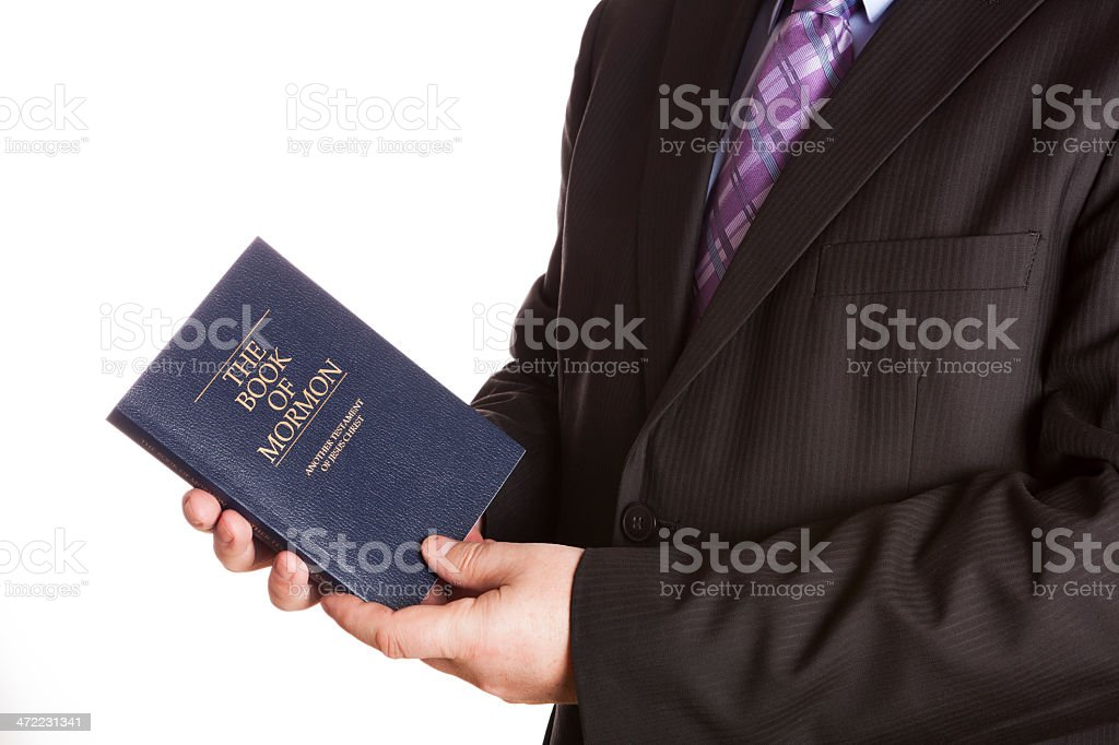 Mormon royalty-free stock photo