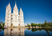 istock Mormon Temple in Salt Lake City 1199711845