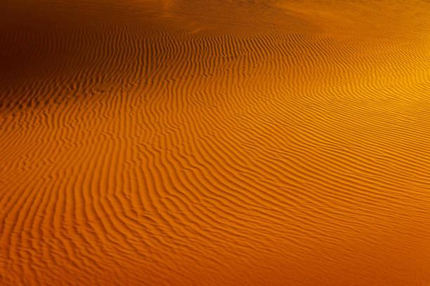 Morning Abstract Deserts of Mhamid, Zagora, Sahara, Morocco, North Africa stock photo