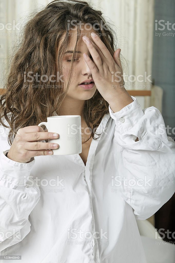 morning after royalty-free stock photo
