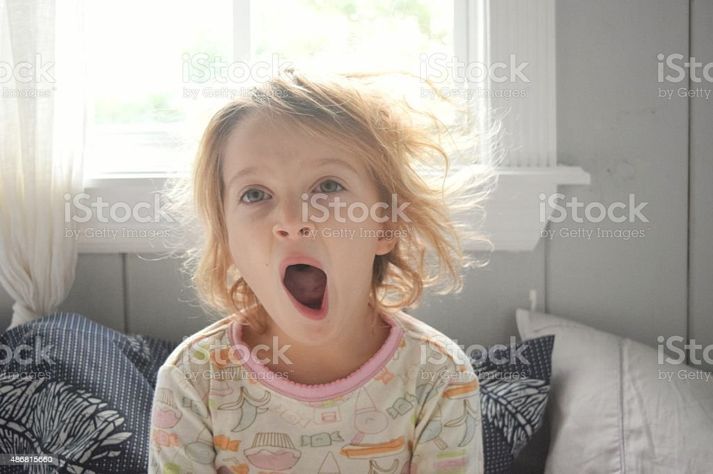 Morning already? stock photo