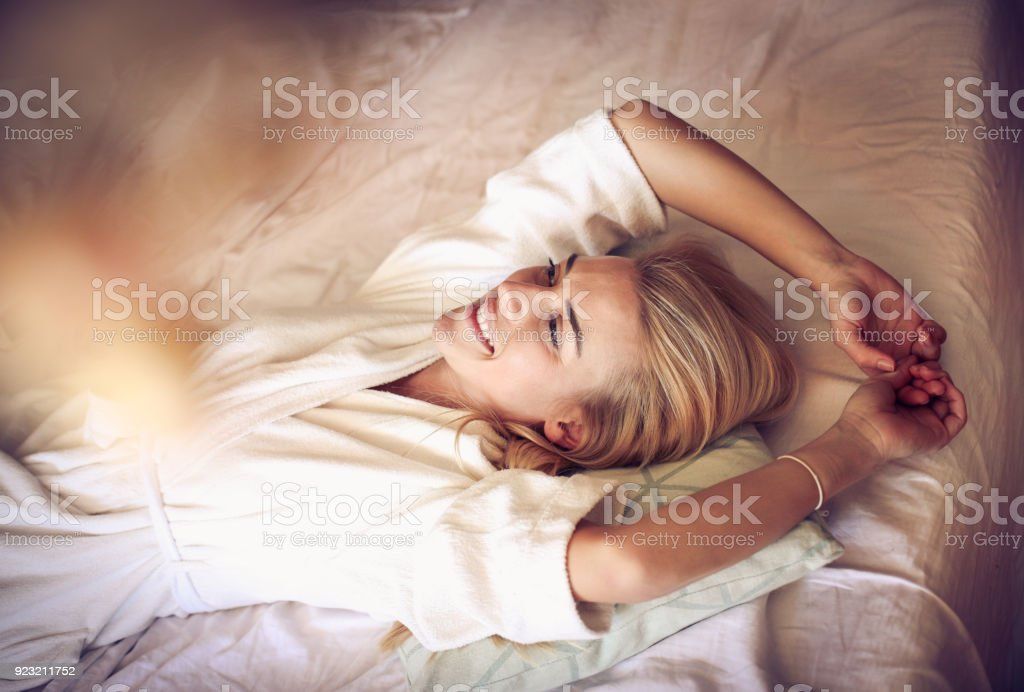 Morning and new obligations. stock photo