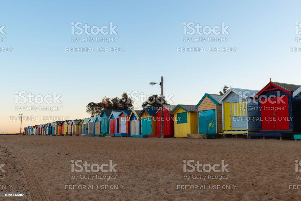 Matin à Brighton Beach - Photo