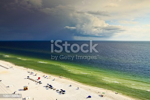 1054156720istockphoto Morning at Gulf of Mexico in Panama City Beach 1054156666