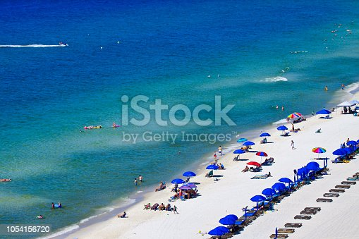 istock Morning at Gulf of Mexico in Panama City Beach 1054156720