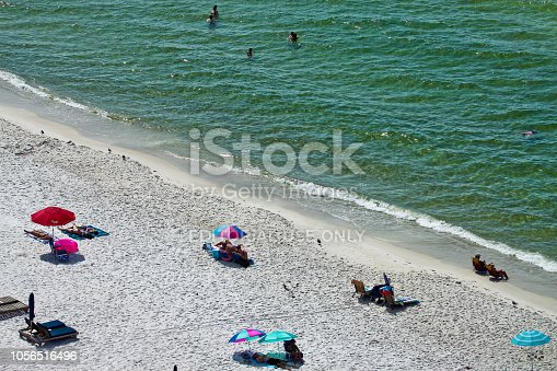 1054156720istockphoto Morning at Gulf of Mexico in Panama City Beach 1056516496