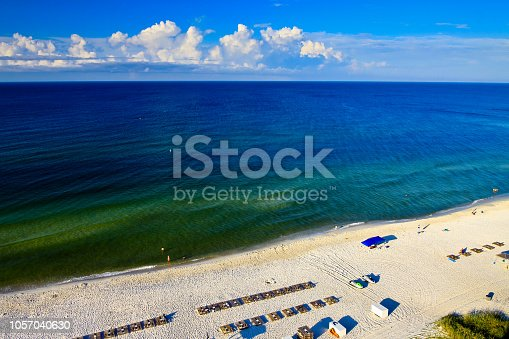 1054156720istockphoto Morning at Gulf of Mexico in Panama City Beach 1057040630