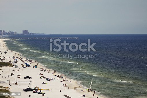 1054156720istockphoto Morning at Gulf of Mexico in Panama City Beach 1057040794