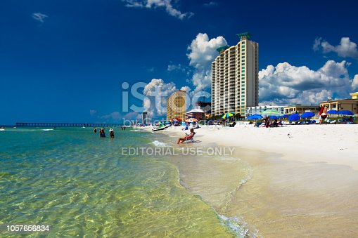 1054156720istockphoto Morning at Gulf of Mexico in Panama City Beach 1057656834